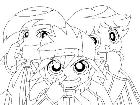 rowdyruff boys coloring pages coloring home