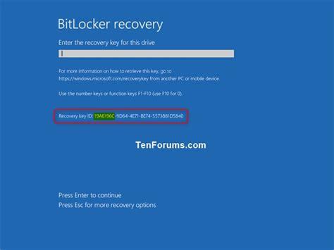 bitlocker tutorial windows 10 unlock os drive encrypted by bitlocker in windows 10