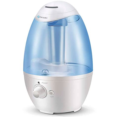 humidifier for room geniani 3l ultrasonic cool mist humidifier best air humidifiers for bedroom living room