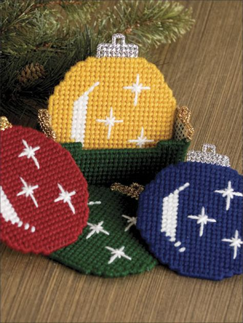 southwest christmas ornaments plastic canvas plastic canvas seasonal patterns patterns ornament coaster set