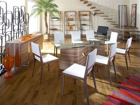 Dakota Dining Room Furniture Collection by Dakota Dining Table With Adeline Chairs Modern Dining