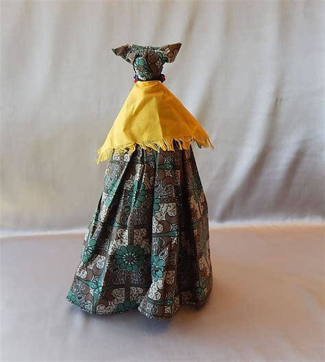 black doll 1980 handmade black cloth doll 1980 s from colemanscollectibles