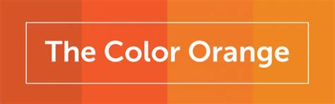 names of orange colors color psychology in marketing the complete guide free