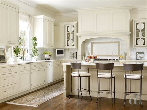 Ivory Shaker Kitchen Cabinets Transitional Kitchen Ivory White Kitchen Cabinets