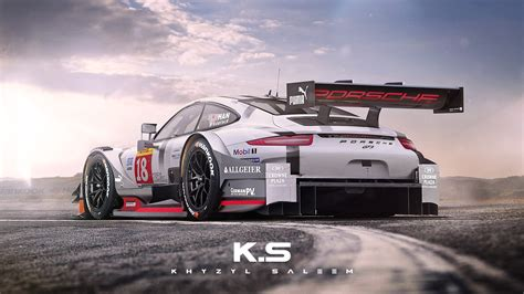 porsche prototype race cars porsche 911 dtm racecar rendered reminds us of group 5
