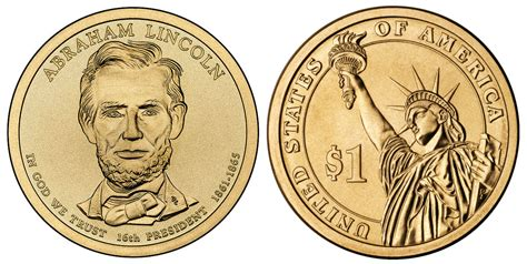 abraham lincoln gold coin 2010 d gold abraham lincoln presidential dollar one 1