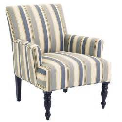striped armchair liliana surf blue striped armchair pier 1 imports