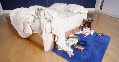 bed tracey emins shocking installation