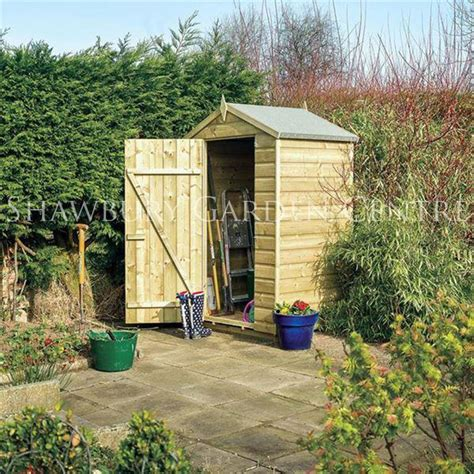 rowlinson 4 x 3ft oxford shed