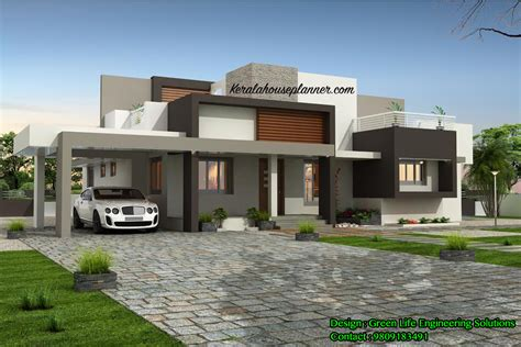 modern home design in kerala house designs in kerala plans and stunning home design