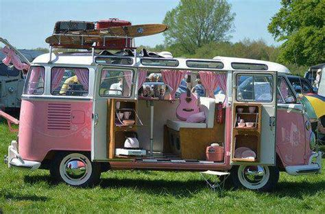 pink volkswagen van inside pink vw van my garage pinterest vw bus buses and vw