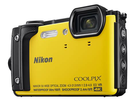 nikon release tough coolpix w300 with 4k ephotozine