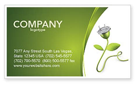 green energy business card template renewable energy business card template layout