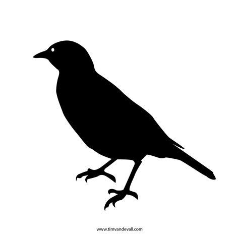 bird stencil tims printables