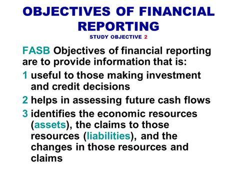 the objectives of financial statements the objectives of financial statements 28 images ppt