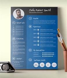 25 infographic resume templates free amp premium collection