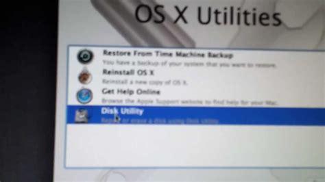 Macbook Estore how to restore macbook pro
