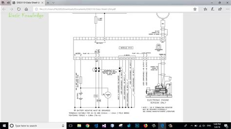 deep sea  typical wiring diagram connection basic