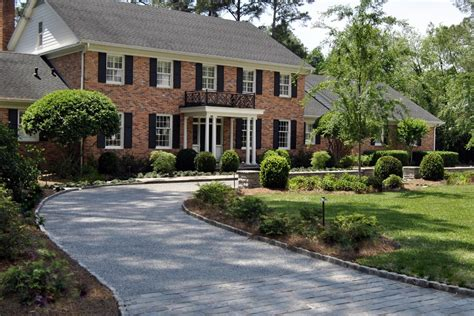 circular driveway design ideas exterior traditional with