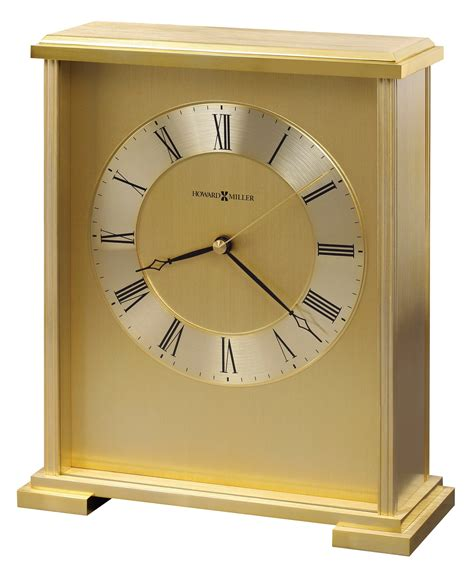 howard miller table clock pricing exton table clock from howard miller 645569 coleman