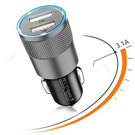 Limited Charger 3 Port Usb 3 1a Kepala Cas Batok Charger usb car charger adapter 3 1a with dual smart ports