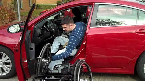 Rollstuhl Auto by Wheelchair Car Transfer Josh Brunner Paraplegic