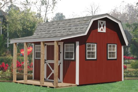 Backyard Barns by Backyard Shed Spaces Studios And Offices Traditional