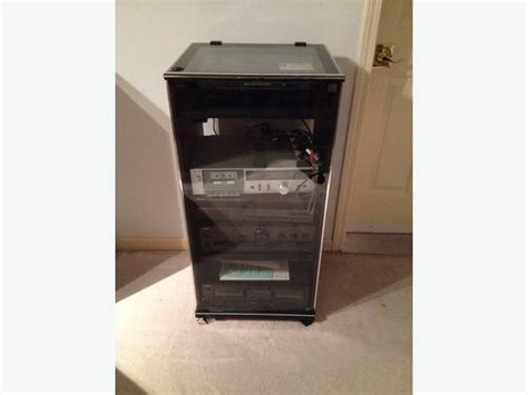 stereo component system cabinet for sale saanich