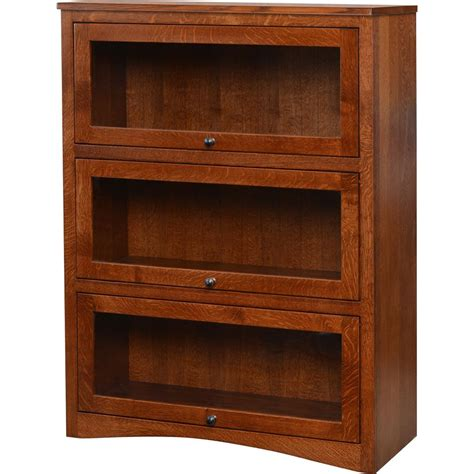 lawyers bookcase for sale three door lawyers bookcase amish crafted furniture