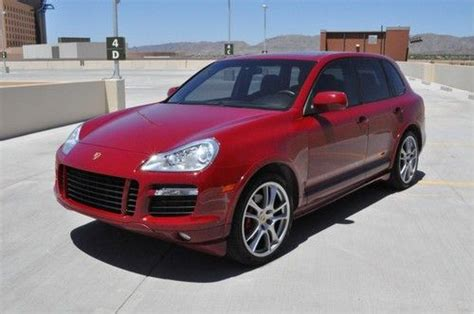 automobile air conditioning service 2009 porsche cayenne electronic toll collection buy used 2009 porsche cayenne gts 6 speed manual warranty loaded only 29k miles in