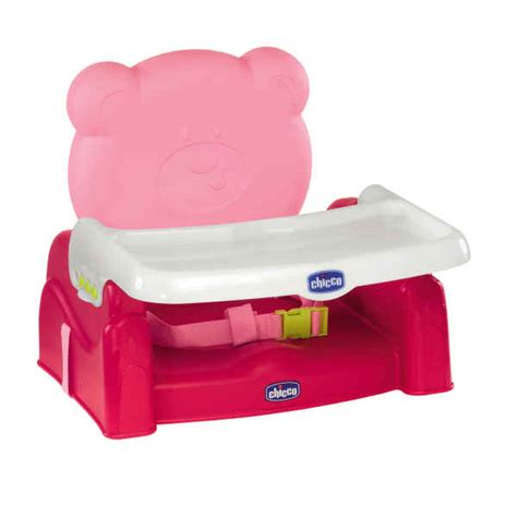 chicco booster seat for table chicco mr booster seat pink buy at kidsroom