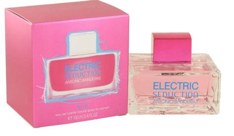 Antonio Cologne For By electric blue perfume for by antonio banderas