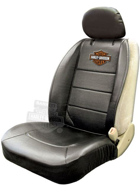 Harley Davidson Seat Cover by Harley Davidson Black Sideless Car Seat Cover Headrest