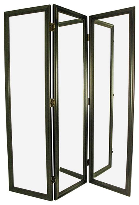 Wayborn Mirror With Frame Full Size Dressing Room Divider Room Divider Picture Frame