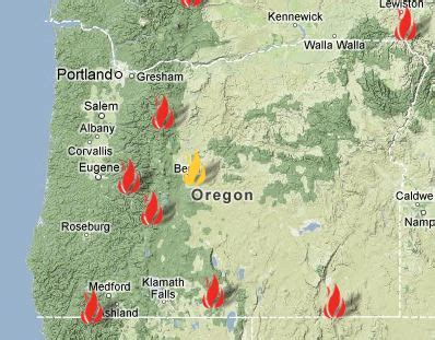 related keywords & suggestions for oregon wildfire map