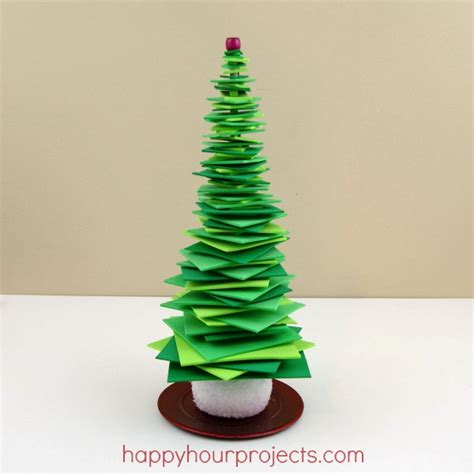simple foam stacker christmas tree happy hour projects