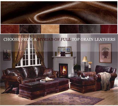 american heritage leather furniture made in usa