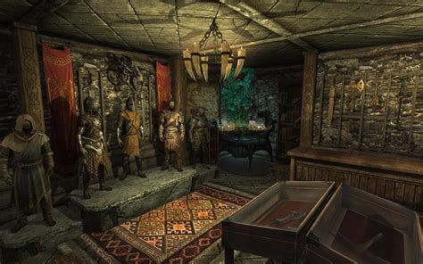 Back Top By Secretroom the secret room of breezehome at skyrim nexus mods and
