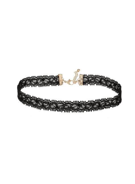 Choker Lace 6 lace choker chokers accessories miss selfridge