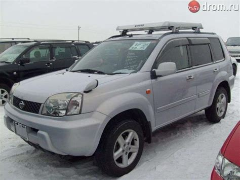 2002 nissan x trail for sale