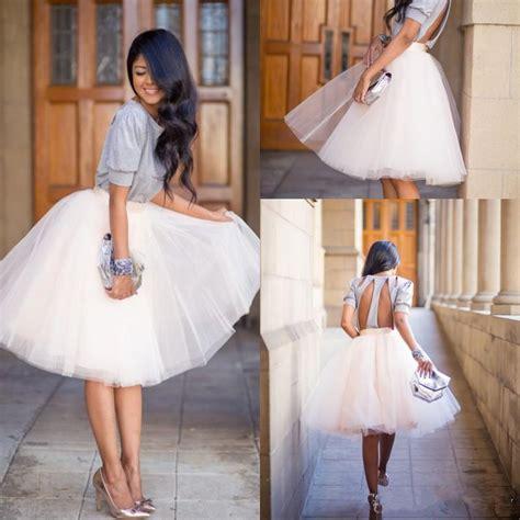Best Seller Pleated Skirt 692 Rok Midi Rok Kerja 2017 2016 knee length white tulle tutu skirts for adults