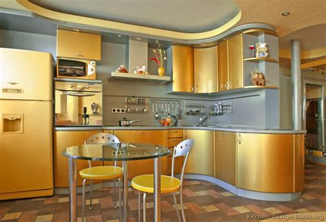 golden cabinets pictures of kitchens modern gold kitchen cabinets