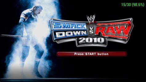 emuparadise wwe wwe smackdown vs raw 2010 usa iso