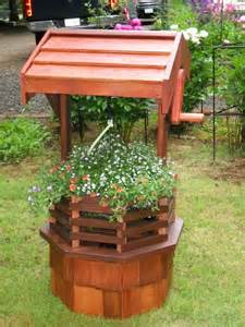 how to build a wishing well planter woodworking projects