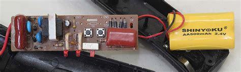 Raket Nyamuk Shinyoku membongkar raket nyamuk elektrologi