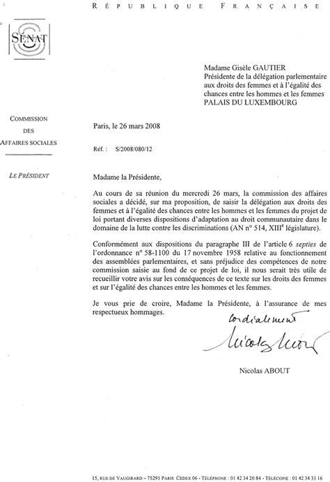 Lettre De Présentation Gendarmerie Suite Mutation Lutte Contre Les Discriminations