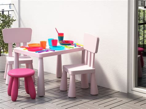 chaise table enfant mobilier de jardin enfant un petit salon d ext 233 rieur