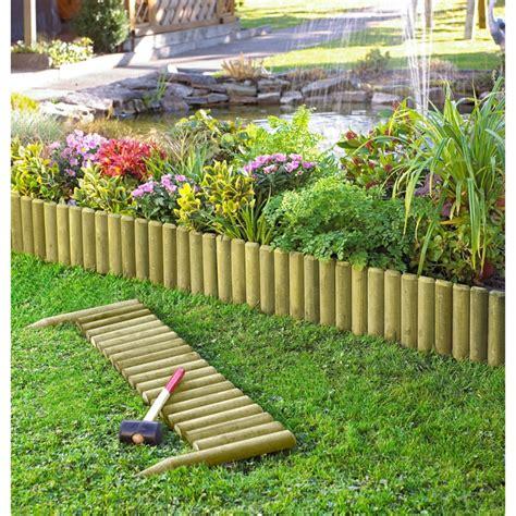 bordura giardino legno bordure per aiuole in pietra e legno ecco le soluzioni