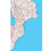 NOVA SIRI  CARTINA D ITALIA MATERA BASILICATA MAPPA