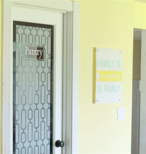 Decorative Pantry Doors by 8 Pretty Pantry Door Ideas That Showcase Your Storeroom As